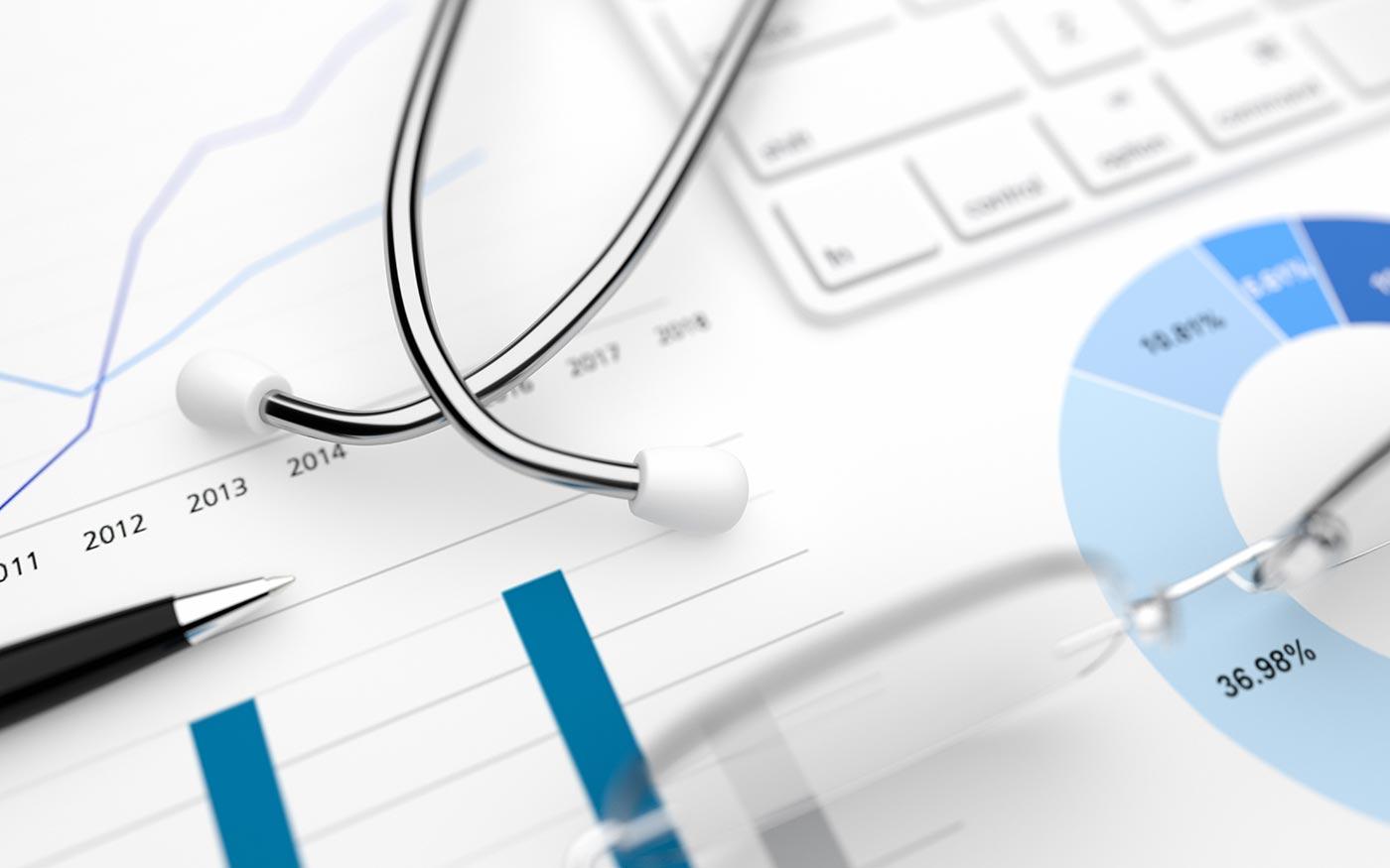 medical-financial-background